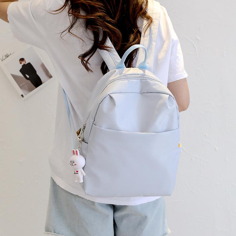 ins超火的双肩包女2019新款时尚小包书包女韩版高中学生百搭背包热销283件五折促销