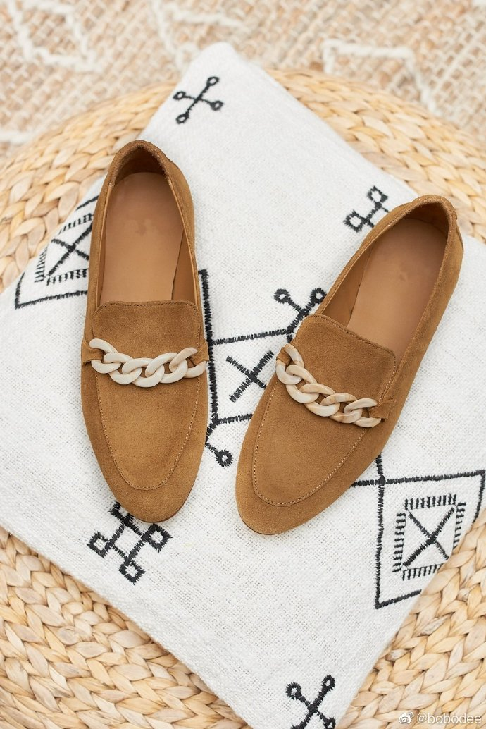 Bobodee European designer brand suede woven single shoe sandals comfortable and fashionable