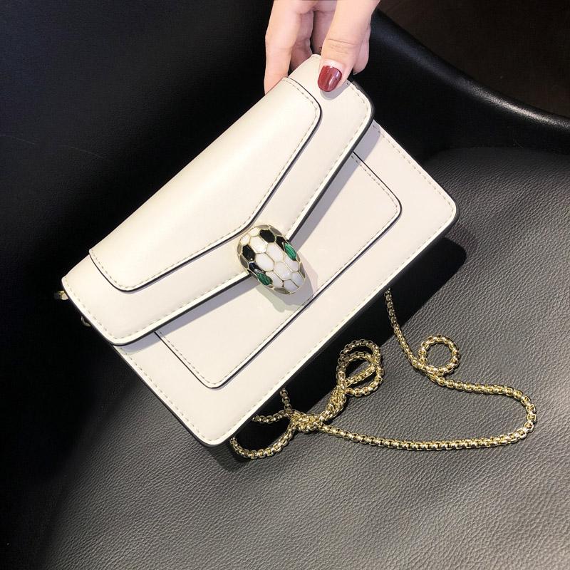欧洲站高质感ins链条包2021新款时尚女包迷你小方包单肩斜挎小包