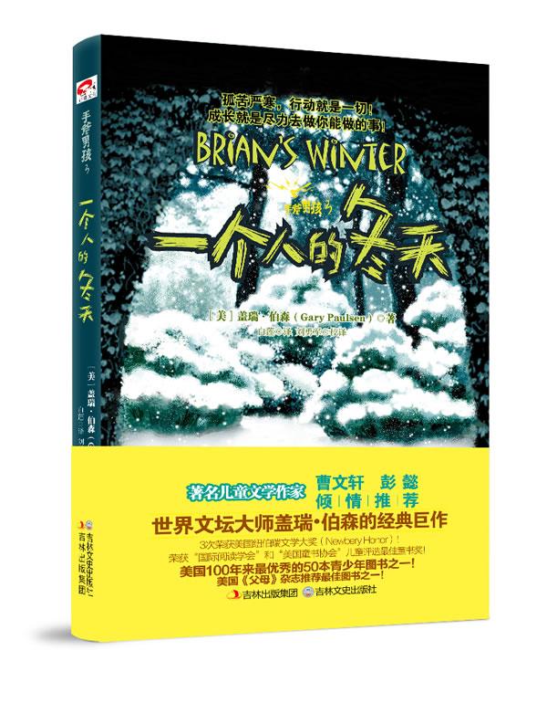 正版包邮 手斧男孩3:一个人的冬天(儿童文学作家曹文轩、彭懿倾情  孤苦严寒,行动就是一 盖瑞#8226伯森 书店 儿童文学书籍