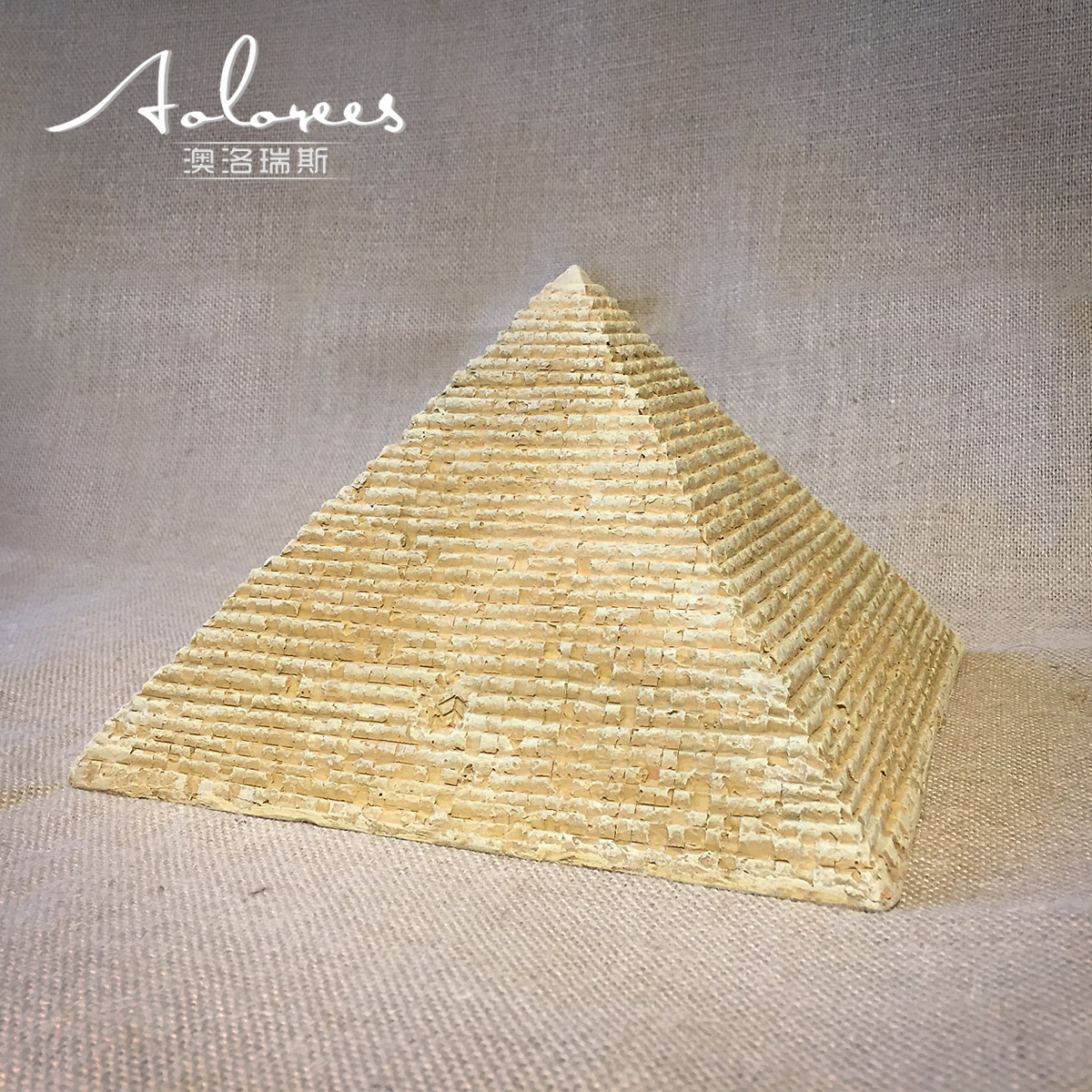 Aurores Egyptian crafts gizahuf Great Pyramid bar ornaments office decoration fortune gifts