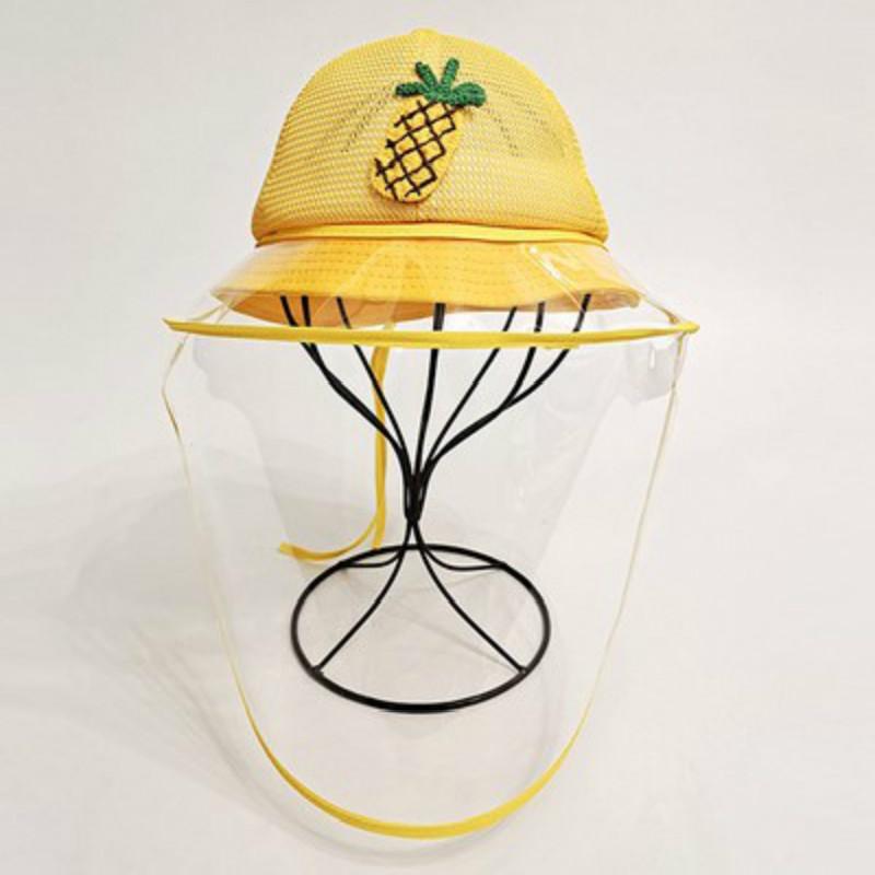 婴幼儿宝宝防护帽子飞沫夏季薄款儿童遮阳防晒太阳帽男女网渔夫帽图片