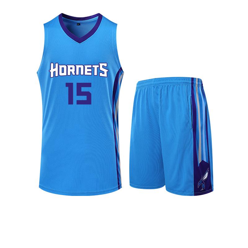 NBAL黄蜂队球衣沃克15号巴图姆2号比赛篮球服DIY定制球衣