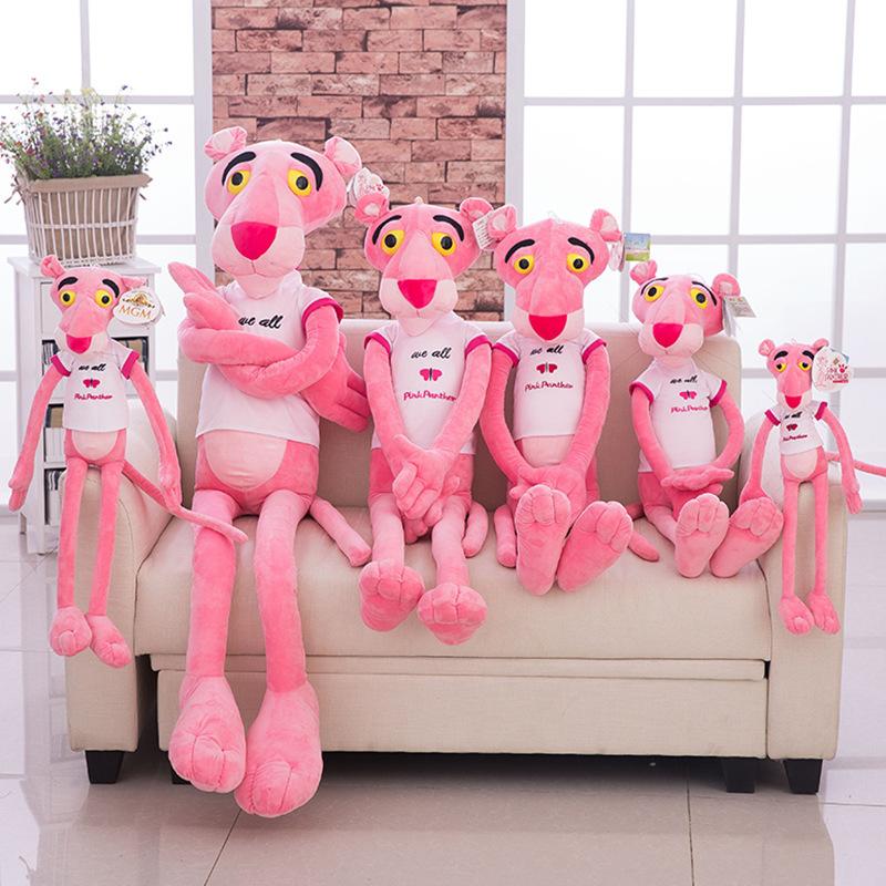 粉红豹公仔粉红顽皮豹毛绒玩具可爱达浪1.8m2米大号抱枕跳跳虎女
