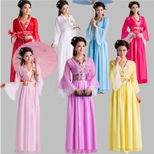 Children's antique dress Xiaoqitang dress, Princess skirt, zither costume, Han-Tang costume, Han-Tang costume, stage costume and national costume
