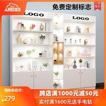圆形指甲油架子置物展示架化妆品架壁挂铁艺美甲店展示柜货架包邮