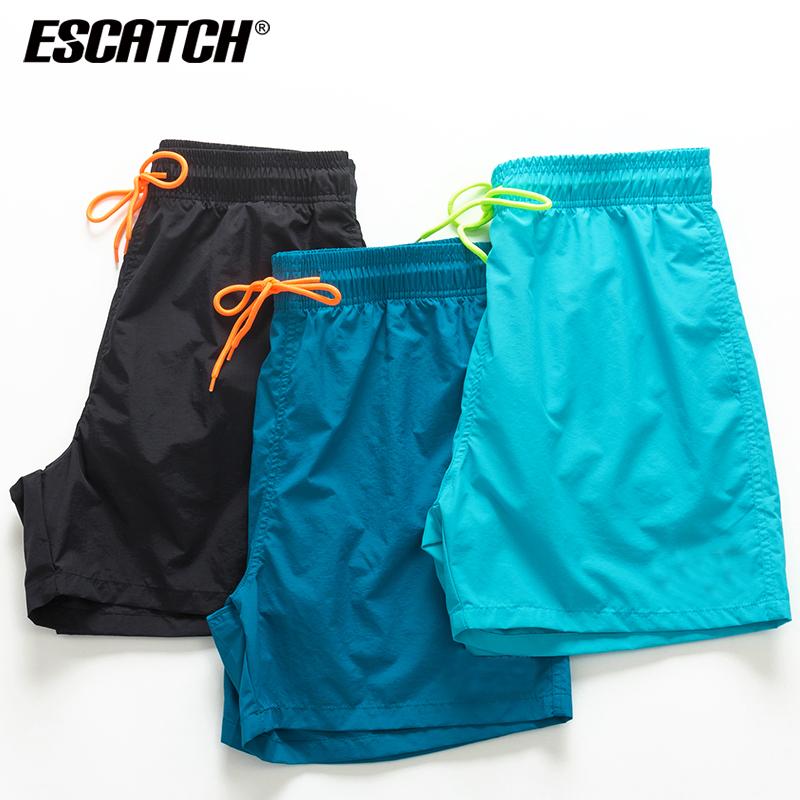 Beach pants men's quick drying and loose water loose beach holiday shorts fashionable men's hot spring flat angle swimming pants
