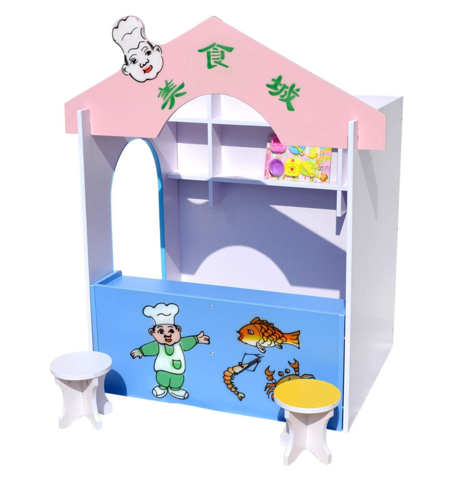 Japan purchase game house custom role play kindergarten house, toy area, naughty castle small