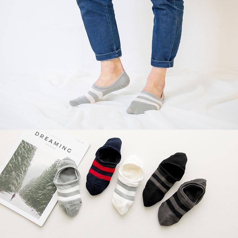 森马袜子男士船袜夏季薄款短袜纯色棉袜防臭吸汗隐形袜短筒运动潮