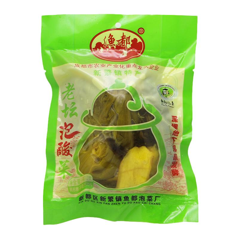 渔都酸菜鱼的酸菜400gX6袋南方四川正宗传统老坛泡鱼酸青菜包邮