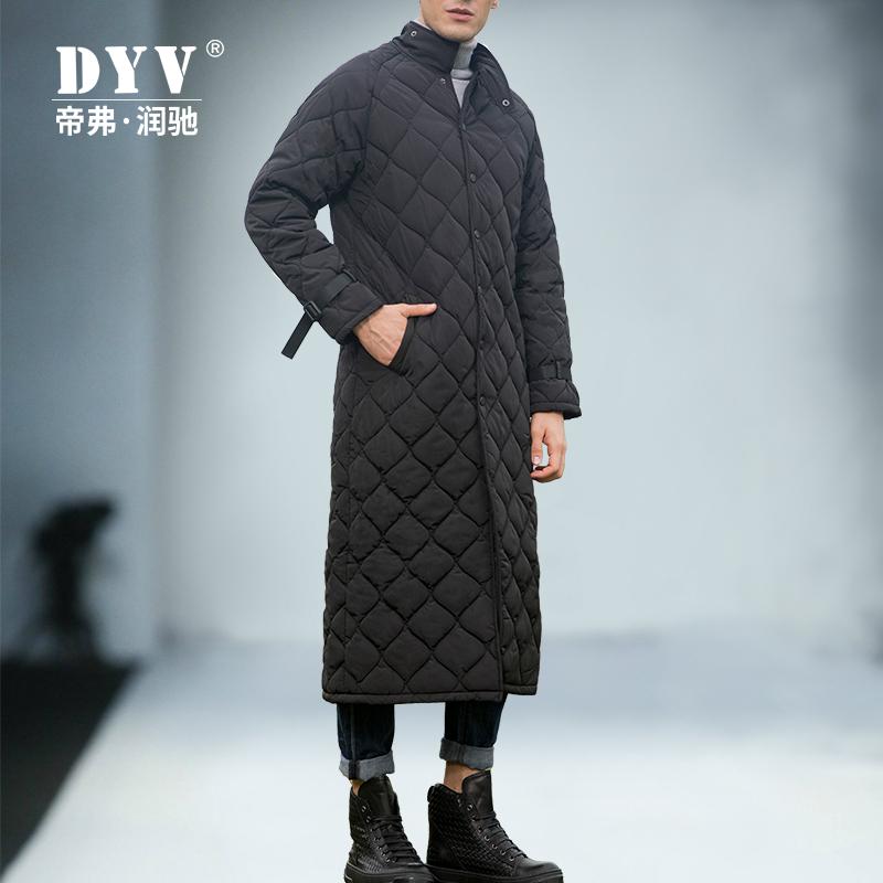 2019冬季新款棉服外套男超长款过膝宽松长款棉袄加保暖厚棉衣男装