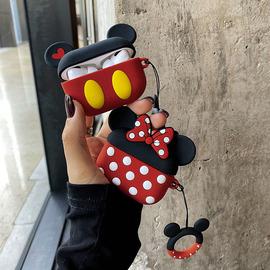 airpods pro保护壳硅胶苹果蓝牙耳机套全包MP3无线充电盒套airpods 1代卡通二代可爱老鼠数码配件airpro图片