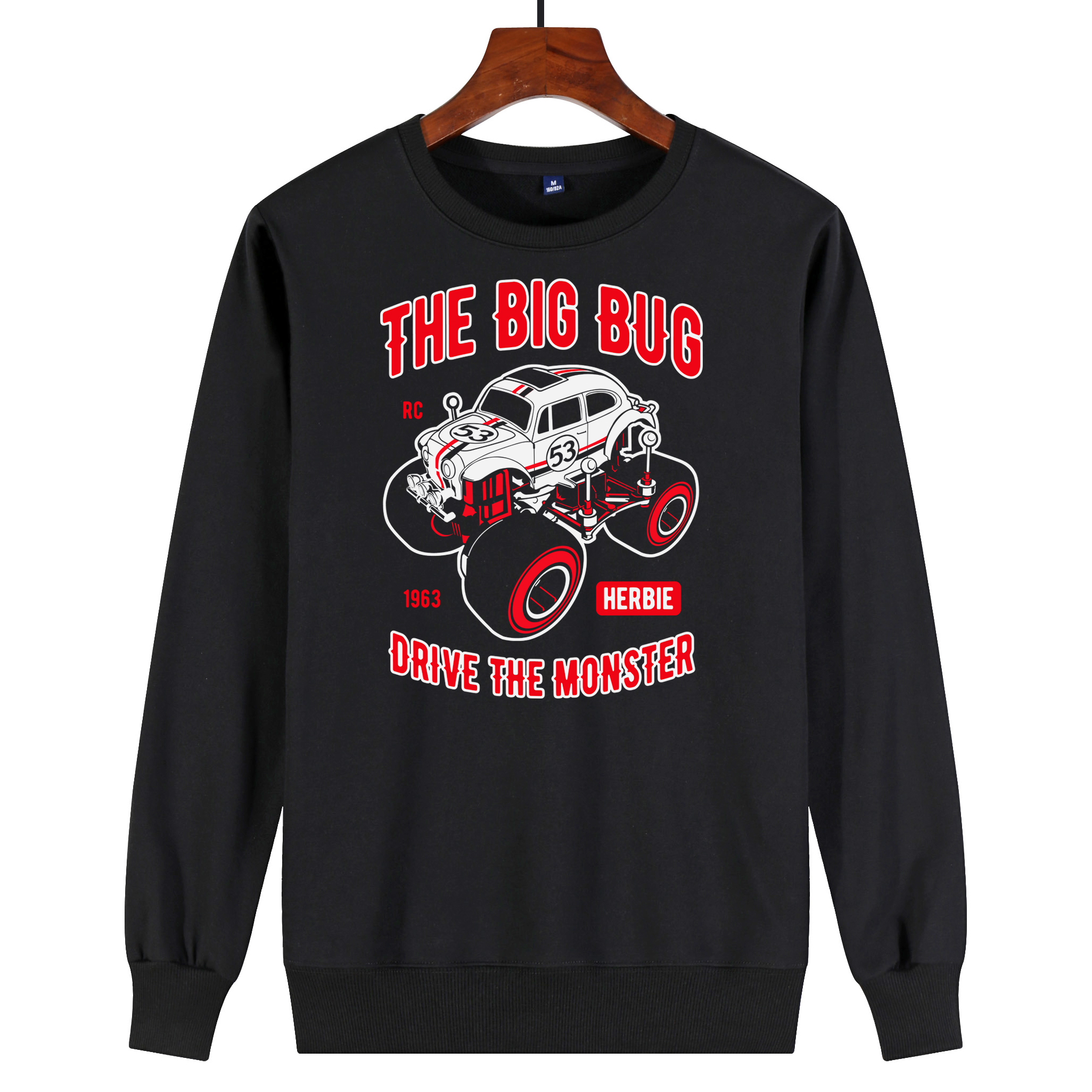 Mens and womens T-shirts, round necked sweaters, hoodies, printed custom street fashion, loose hip hop clothes