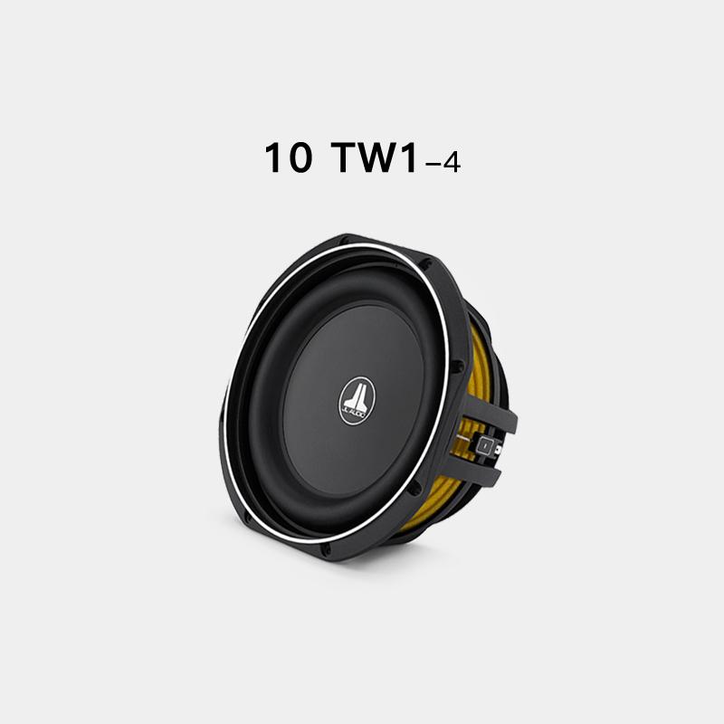 JL AUDIO汽车音响TW1系列无源低音炮功放10寸12寸重低音喇叭套餐
