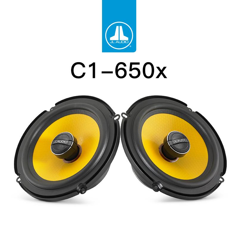 JL audio c1-650x coaxial loudspeaker high and low pitch loudspeaker upgrade package