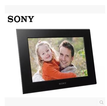 索尼/SONY�子�荡a相框DPF-D1020 10.2寸2G音�l��l播放 全新原封