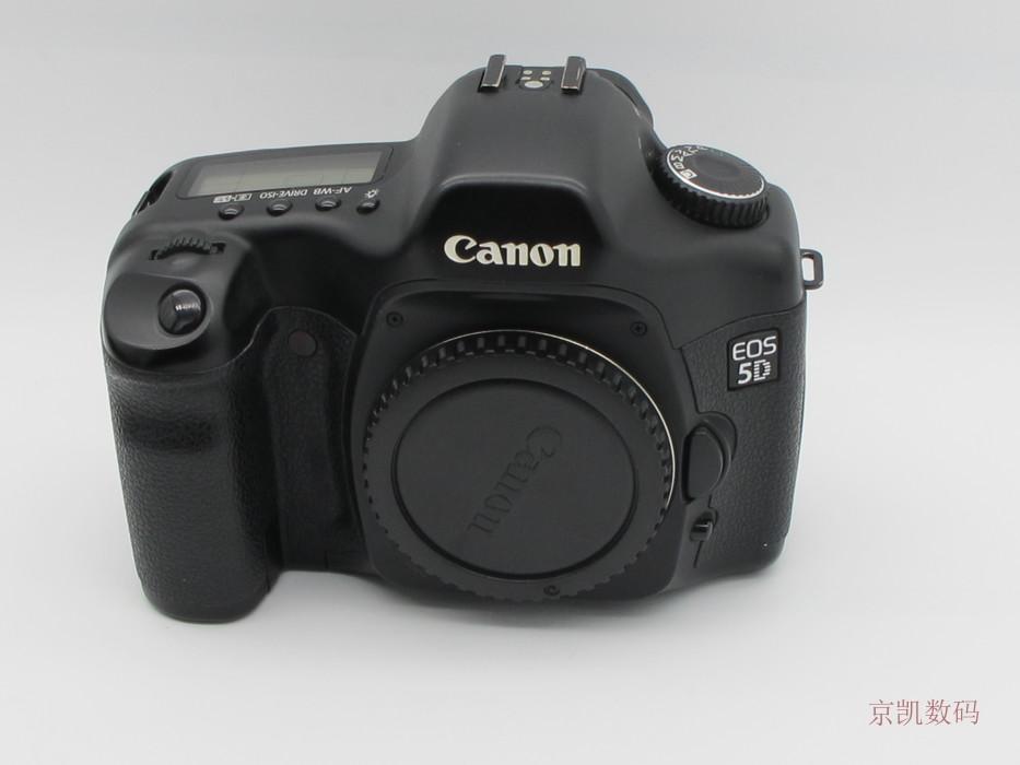 佳能5D单反相机 佳能老5D  二手佳能5D 入门级全画幅 库存机
