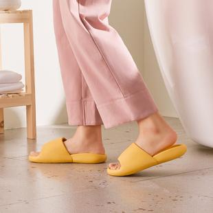 朴西拖鞋踩屎感夏室内家用男洗澡浴室防滑软底凉拖鞋女夏外穿夏季