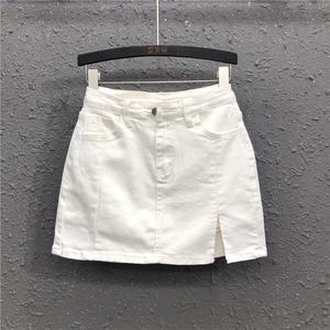 白色包臀2021春夏新款韩版短裙裤裙