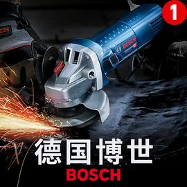 博世角磨机多功能电动切割打磨手磨磨光机工具博士万用小型手砂轮