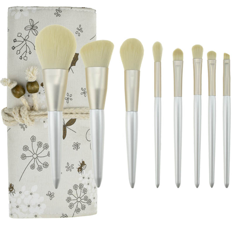 Xiao Hong recommended Yu Meis makeup brush set, beauty makeup brush, portable soft powder powder brush for beginners.