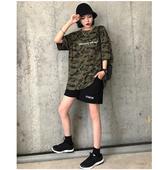 CCKOK黑色阔腿运动短裤女夏2018新款韩版高腰宽松学生休闲裤子