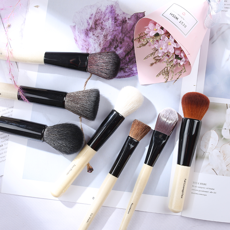 Cangzhou factory shop Bobbi Bobbi makeup brush full set of loose powder brush foundation brush, eye shadow brush, halo dye brush