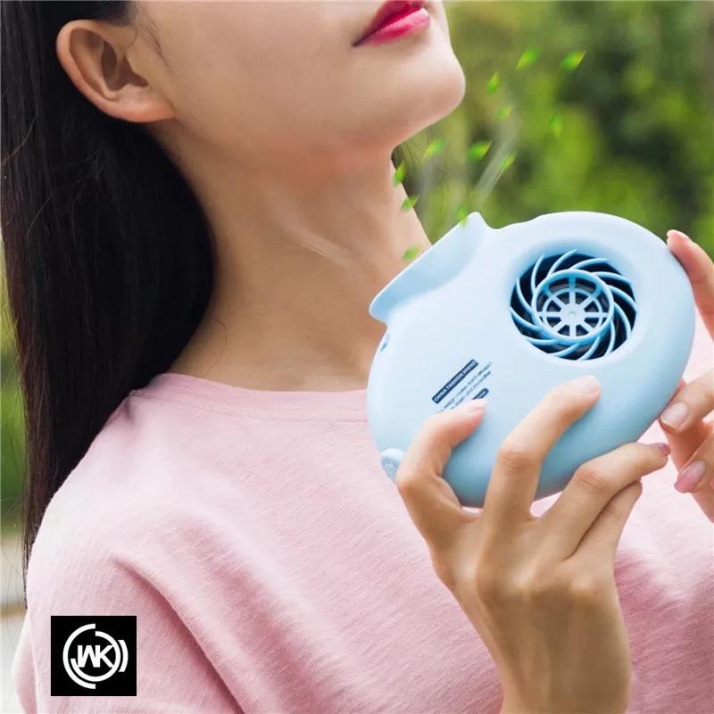 11-11新券香港wk新款懒人创意usb充电小风扇