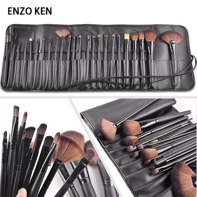 恩佐专业化妆刷套装24支彩妆刷全套粉刷套刷化妆工具软毛眼影刷