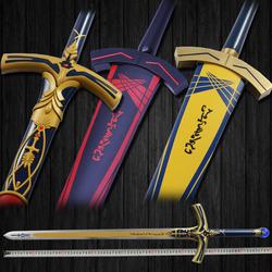 Fate命运长夜黑化Saber誓约胜利之剑全金属石中剑Excalibur未开刃