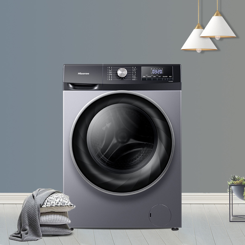 Hisense / Hisense hd100ds3 10kg / kg variable frequency drum drying washing machine S4 fully automatic household