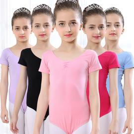 舞蹈服儿童女夏季短袖春秋长袖芭蕾舞练功服舞蹈衣拉丁舞演出服图片