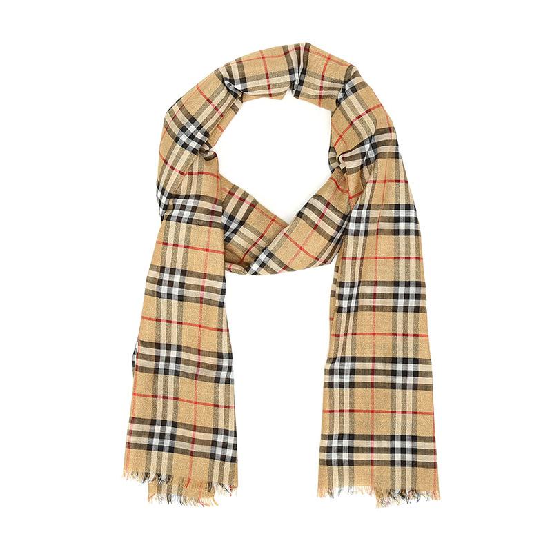 巴宝莉围巾价格,Burberry围巾多少钱