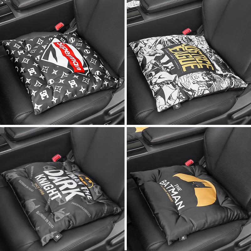汽车坐垫四季通用单片夏季冰垫制冷坐垫卡通透气凉垫单座降温神器