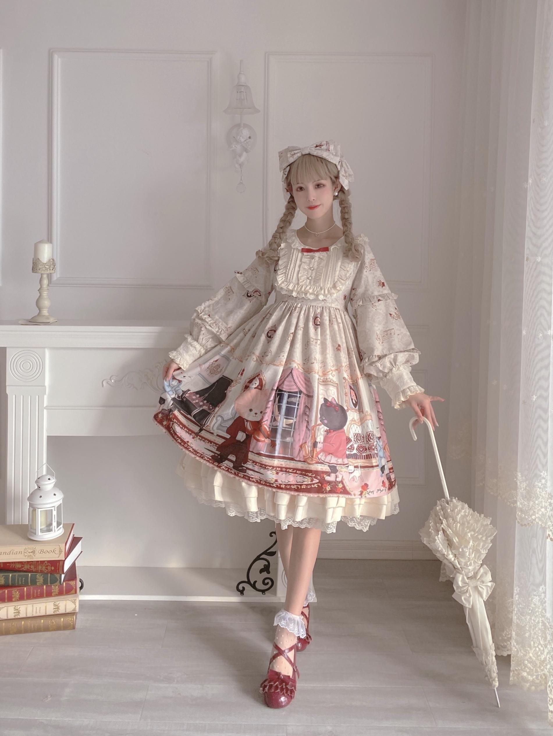 [Stock page] original design of Miaoli * Lolita Dress in autumn and winter