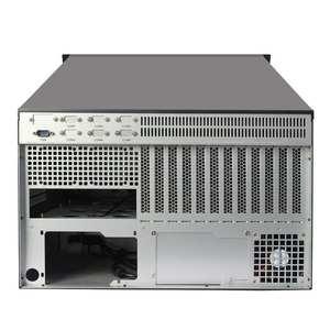 6u工控机箱带触摸显示屏键盘一体工业电脑卧式atx大板服务器机箱