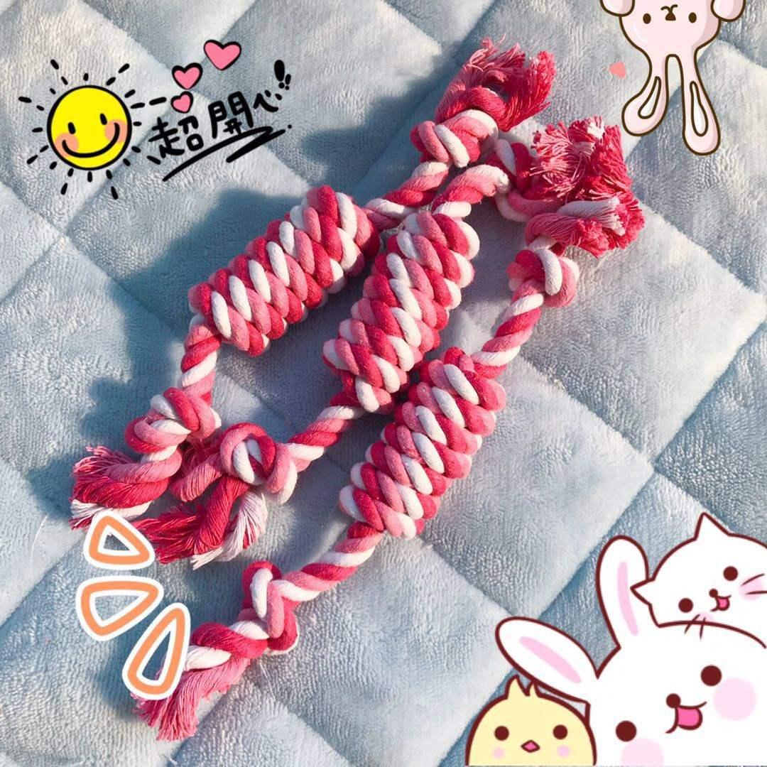 25玩具糖果宠物双节哦棉绳玩具猫狗玩具耐咬狗狗磨牙玩具cm