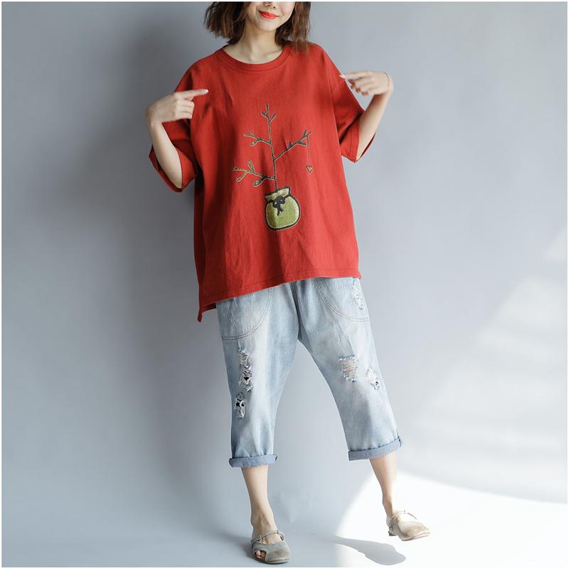 胖mm短袖T恤女肥胖女装夏装特大码遮肚子显瘦上衣服加肥加大藏肉