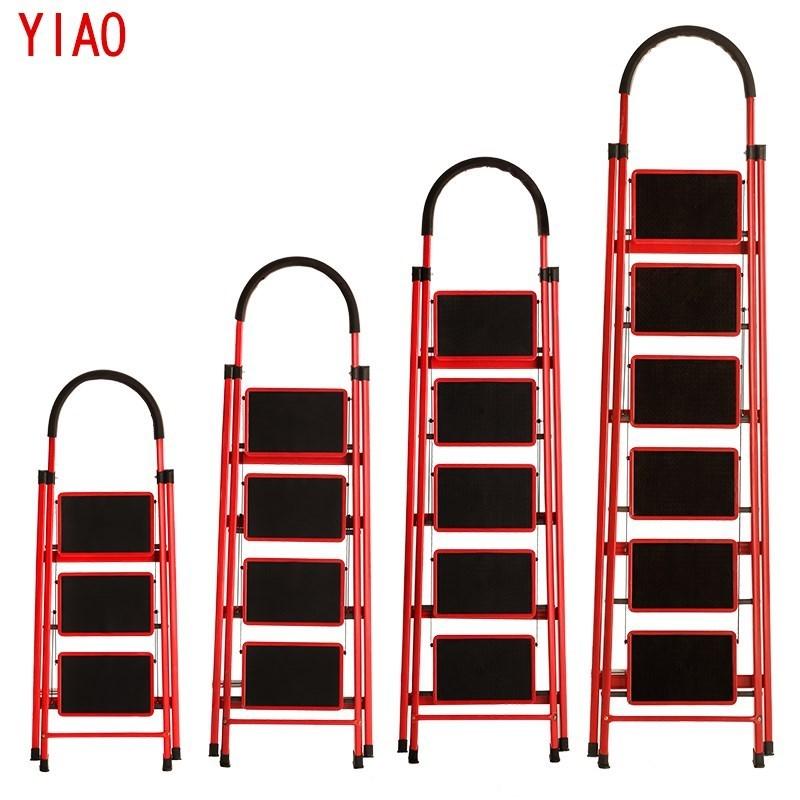 怡奥梯加厚室内人字梯楼梯移动伸缩梯步梯多功能扶梯梯子家用折叠