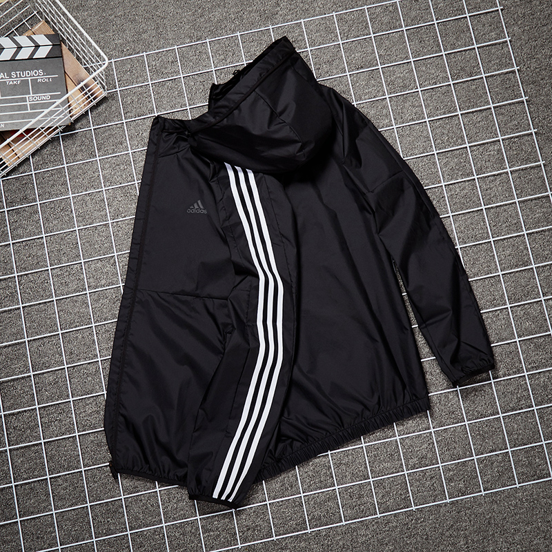 Adidas coat men's new authentic casual wear in spring and autumn 2020 jacket trend windbreaker sports jacket