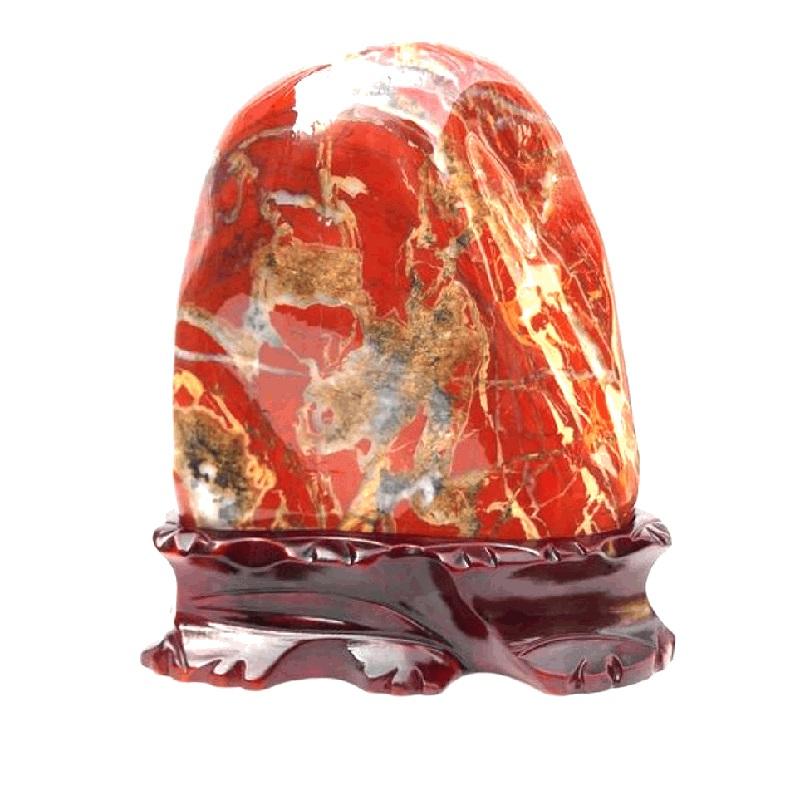 キャビネットの装飾品は客間テレビの玄関の博古棚の天然石の玉のデスクトップの骨董品を飾って財を招きます。