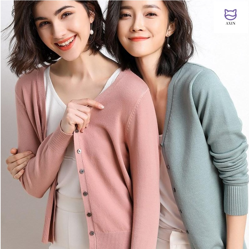 Spring and autumn thin knitwear women 2020 new cardigan short sweater small cape coat top air conditioning shirt summer
