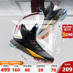 安踏要疯篮球鞋男鞋官网旗舰店2020新款夏季透气汤普森球鞋运动鞋