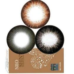 韩国自然大直径美瞳朗姆14.7比14.8小黑大美目正品大牌隐形眼镜tu