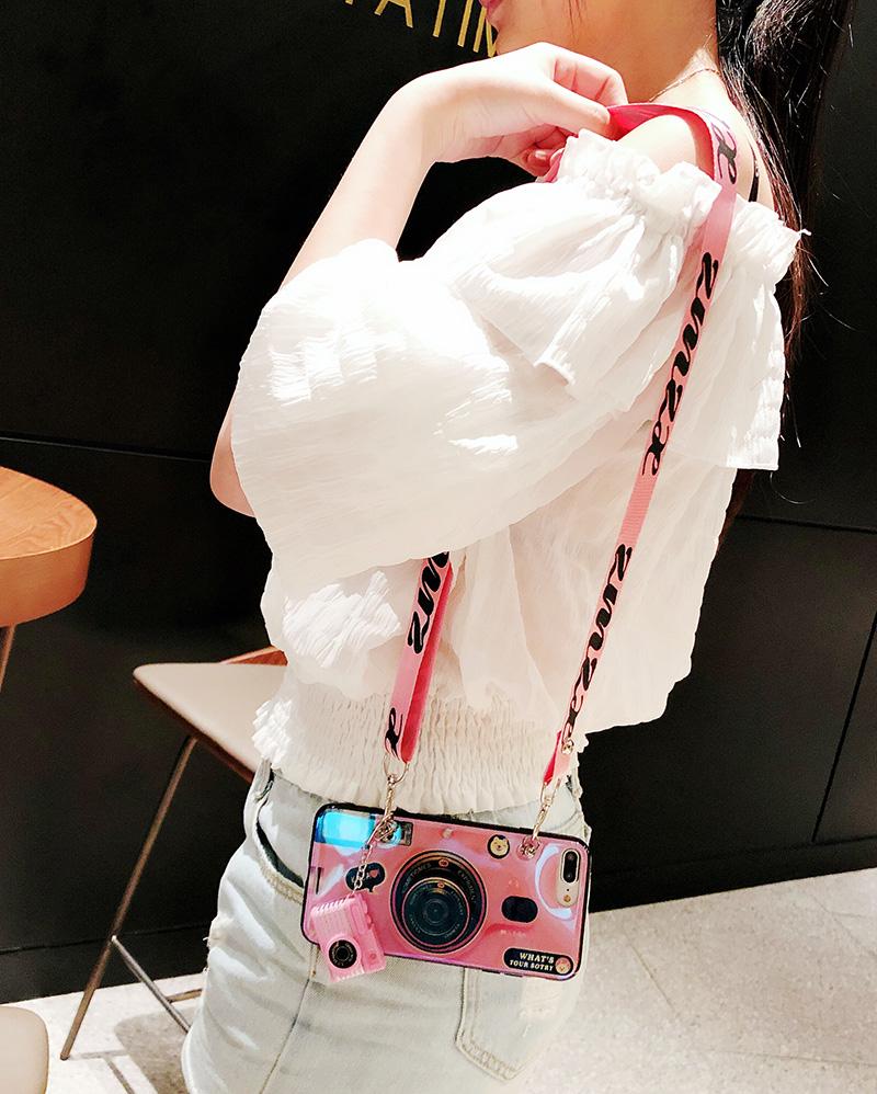 限3000张券网红相机可挎斜挎vivox21 x7手机壳
