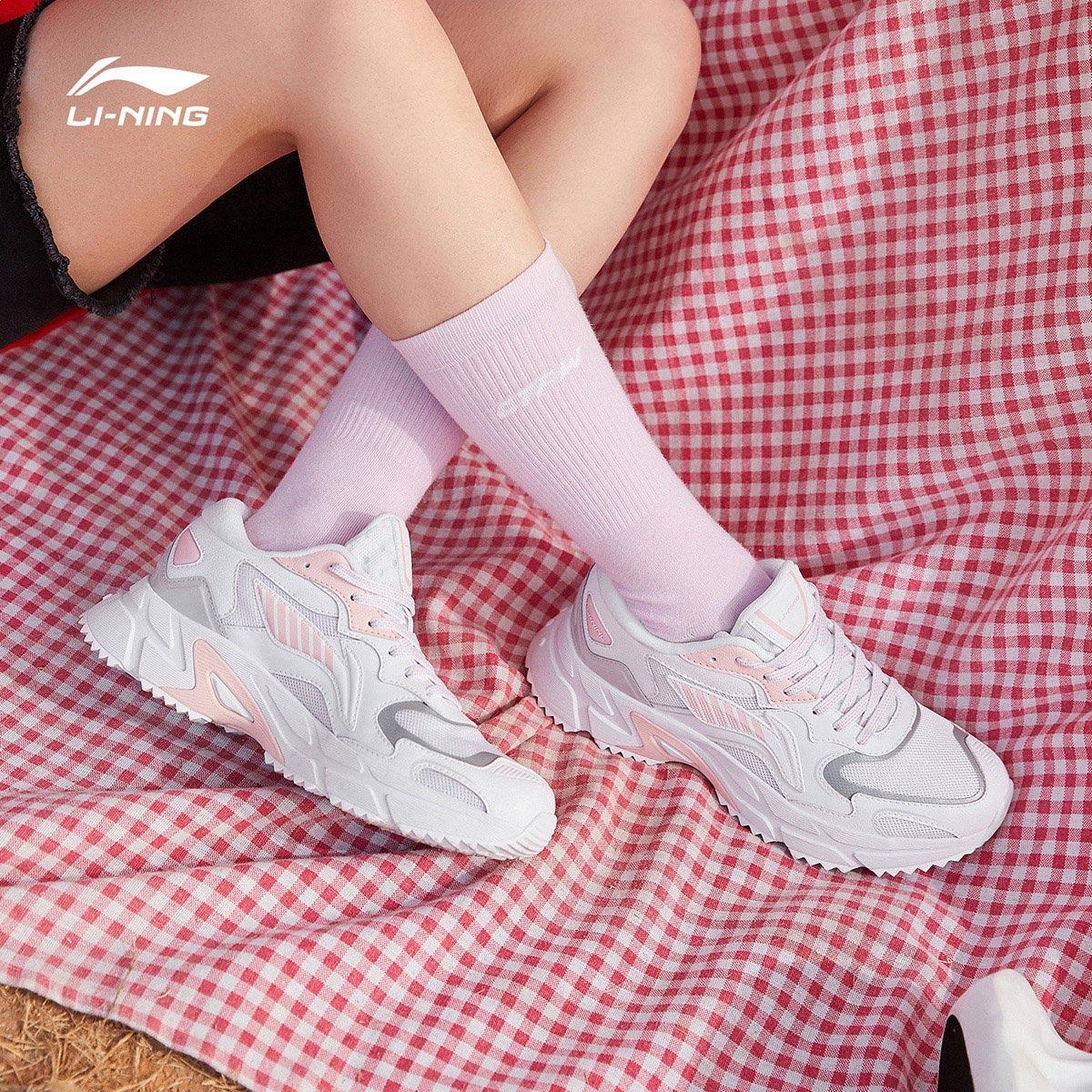李宁跑步鞋官方春季新品休闲鞋女鞋评价如何