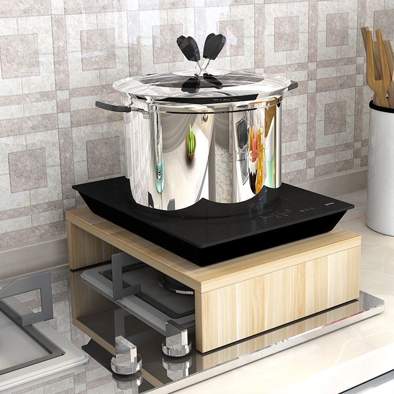 Liquefied natural gas range, gas stove cover, electromagnetic stove support, base, table, stove cover, kitchen utensils storage rack