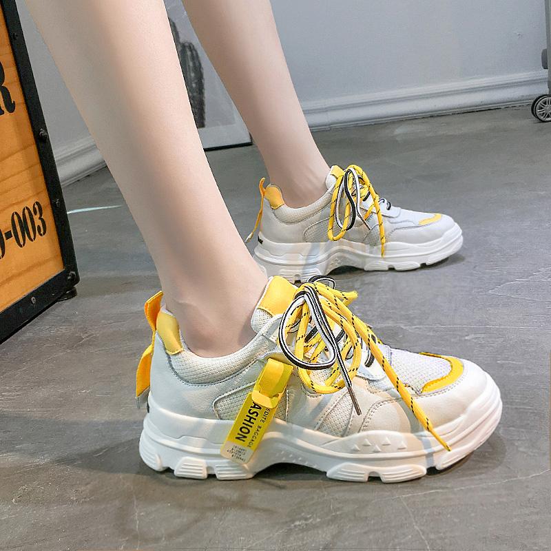 11-17新券女童网红老爹鞋透气儿童鞋子女2019新款秋小学生秋鞋中大童运动鞋