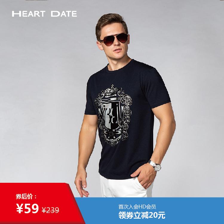 2020夏の新型メンズカジュアル大プリント都市ファッションシルクコットン半袖Tシャツ半袖上着バッグ郵送
