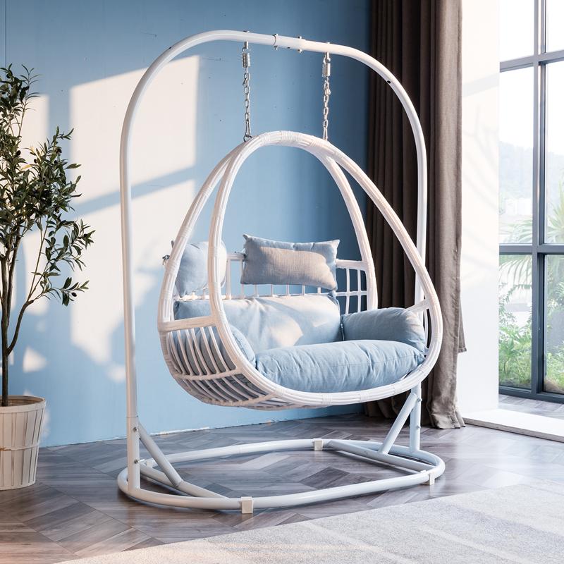 室内吊篮藤椅 懒人椅秋千吊床